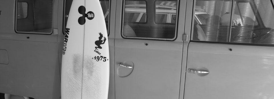 1975 – 世田谷区下馬のサーフショップ 三軒茶屋